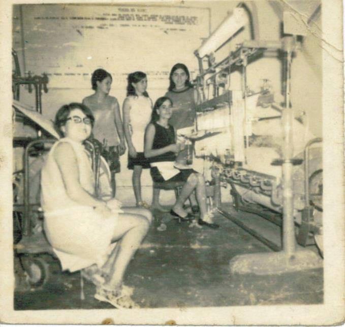 Trabajadoras de la TicaTex. Año 1967.